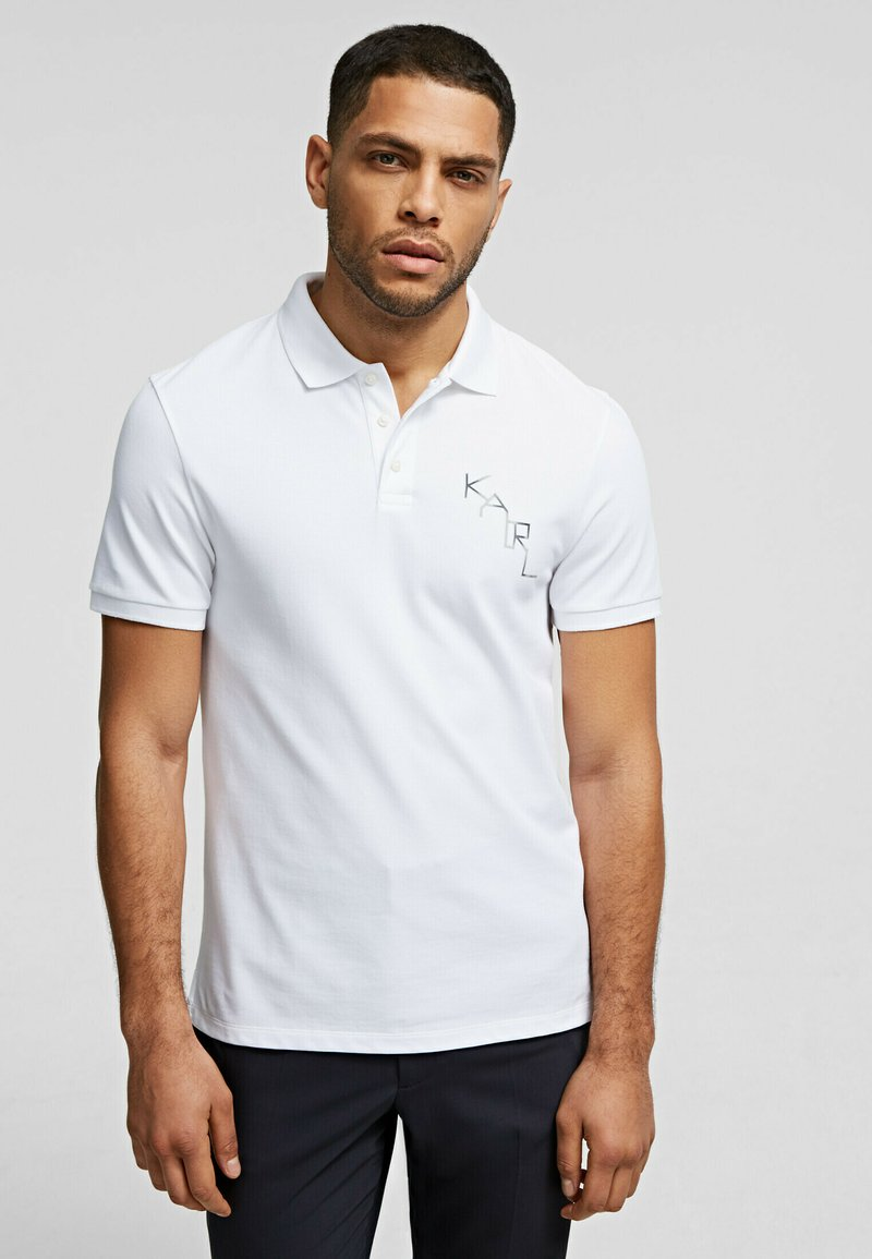 KARL LAGERFELD - Polo shirt - white