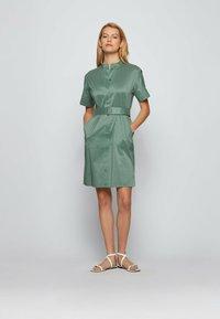 BOSS - DASHILA - Abito a camicia - light green - 1