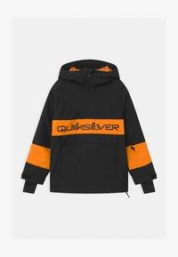 Quiksilver - STEEZE YOUTH UNISEX - Kurtka snowboardowa - true black - 0