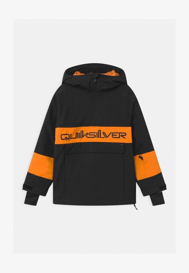 STEEZE YOUTH UNISEX - Snowboard jacket - true black
