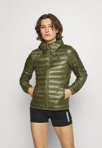 adidas Performance - VARILITE - Down jacket - green - 0