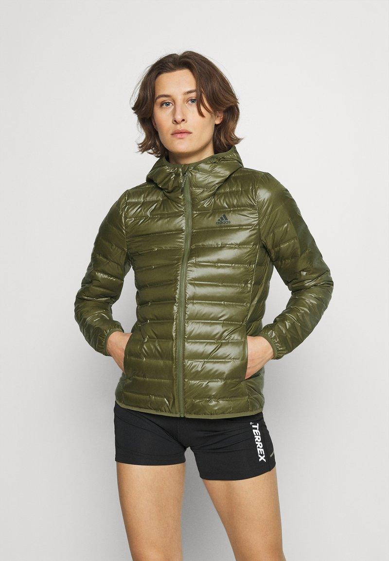 adidas Performance - VARILITE - Down jacket - green