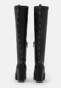 Guess - DARLENE - Stivali con i tacchi - black - 3
