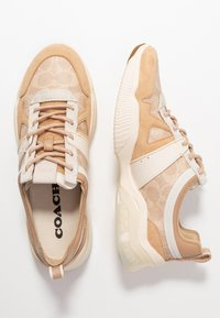 Coach - RUNNER - Trainers - sand/beechwood - 1