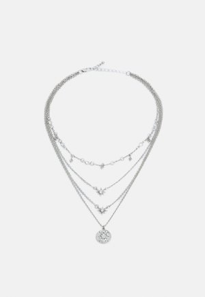 PCSKY COMBI NECKLACE - Necklace - silver-coloured