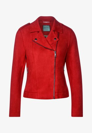 Faux leather jacket - rot