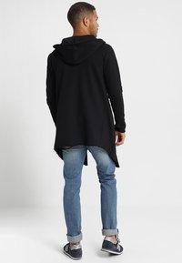 INDICODE JEANS - BREKSTAD - Zip-up hoodie - black - 2