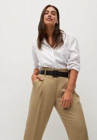 Violeta by Mango - FAST - Trousers - beige - 3