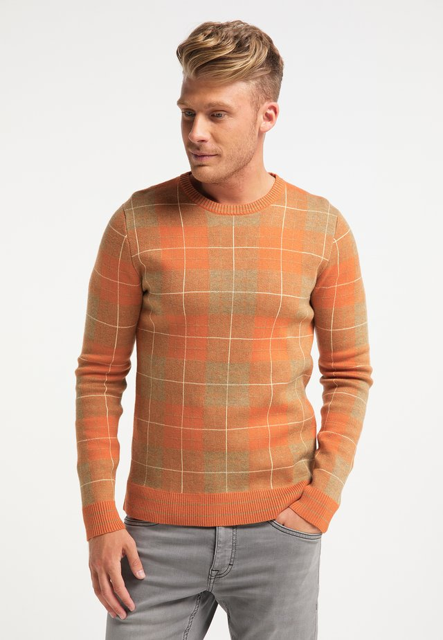 Sweter - multicolor rost