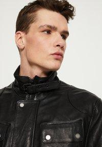 Be Edgy - GARRET - Krátký kabát - black - 3