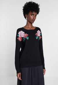 Desigual - BY MARIA ESCOTÉ - Sweter - black - 0
