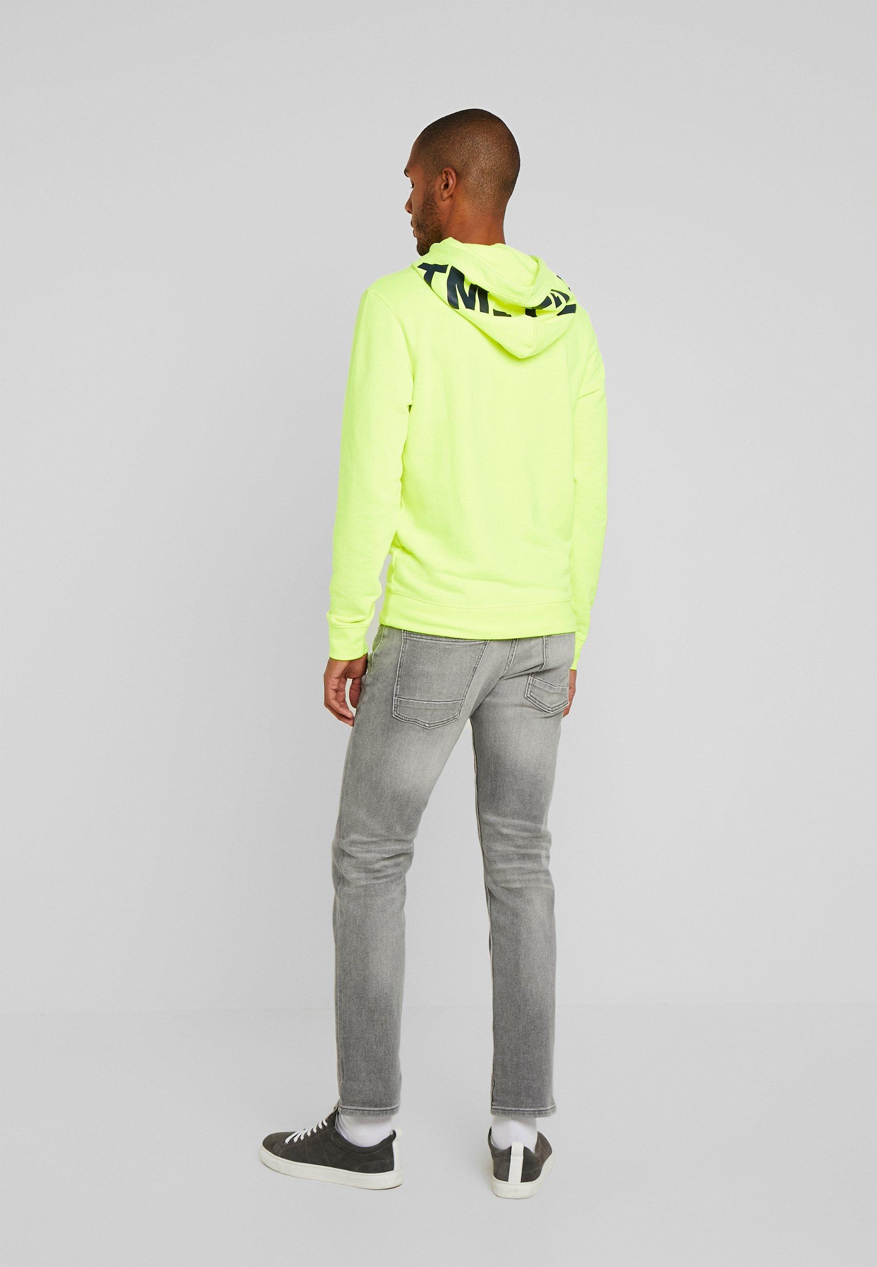 TOM TAILOR JOSH - Straight leg jeans - used light stone grey denim