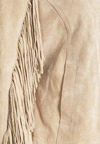 Freaky Nation - COACHELLA GIRL - Leather jacket - driftwood - 6