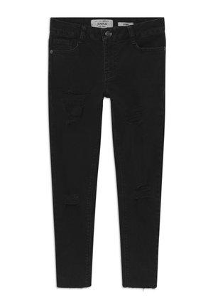 REGAN RIPPED - Jeans Skinny - black