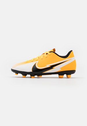 MERCURIAL JR VAPOR 13 CLUB FG/MG UNISEX - Kopačky lisovky - laser orange/black/white