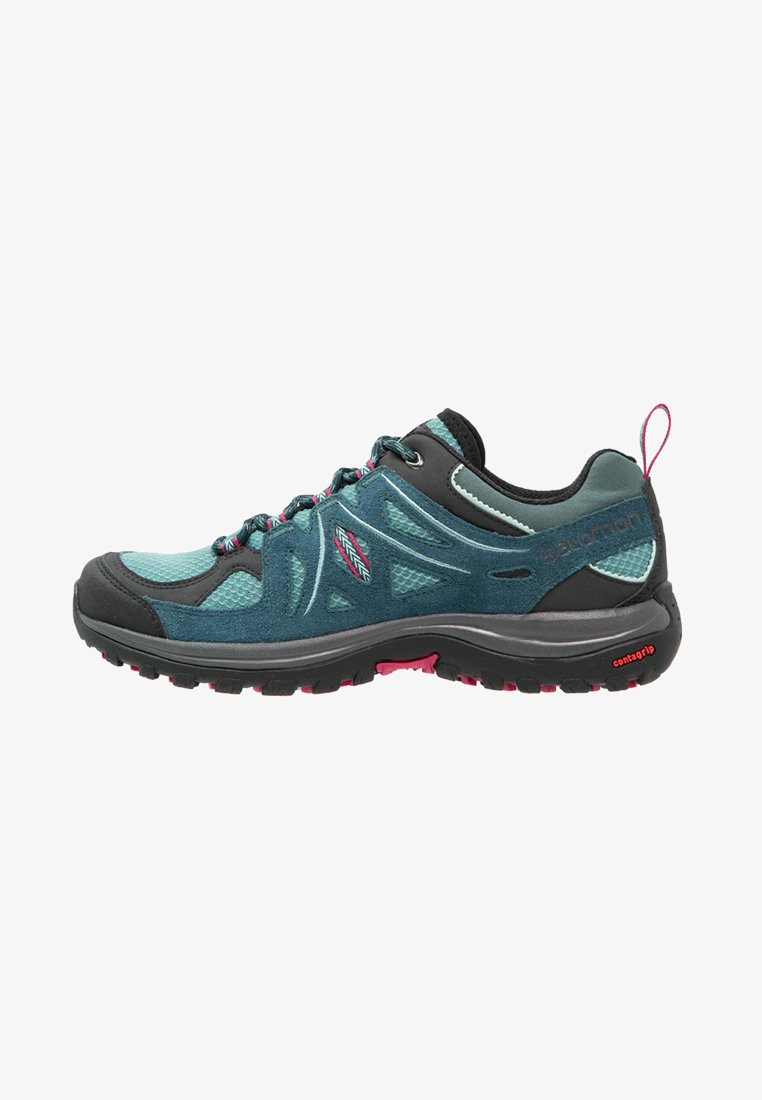 Salomon - ELLIPSE 2 AERO  - Hiking shoes - artic/reflecting pond/sangria