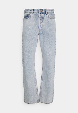Straight leg jeans - turquoise dusty light