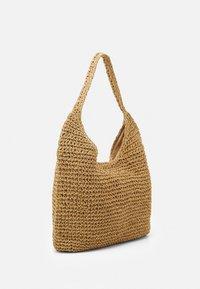 Pieces - PCLONGO BAG - Tote bag - nature - 1