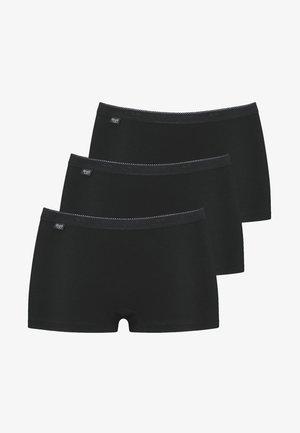 3 PACK - Pants - schwarz