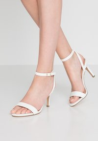 New Look - SCORPION - High heeled sandals - white - 0