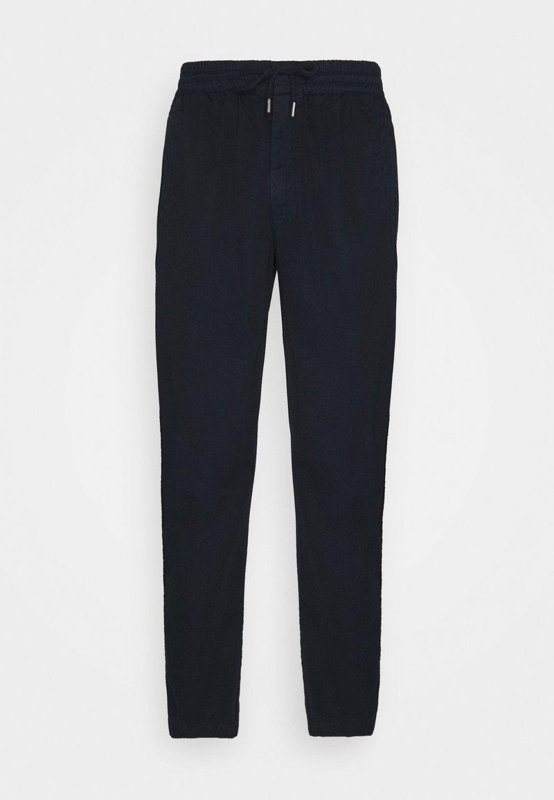 Folk - DRAWCORD TROUSERS - Pantalon classique - deep navy