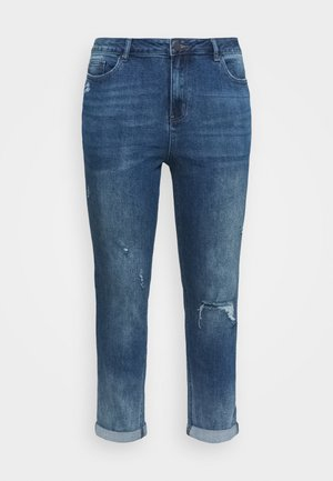 FERN SLIM BOYFRIEND REGULAR LENGTH - Slim fit jeans - dark stonewash