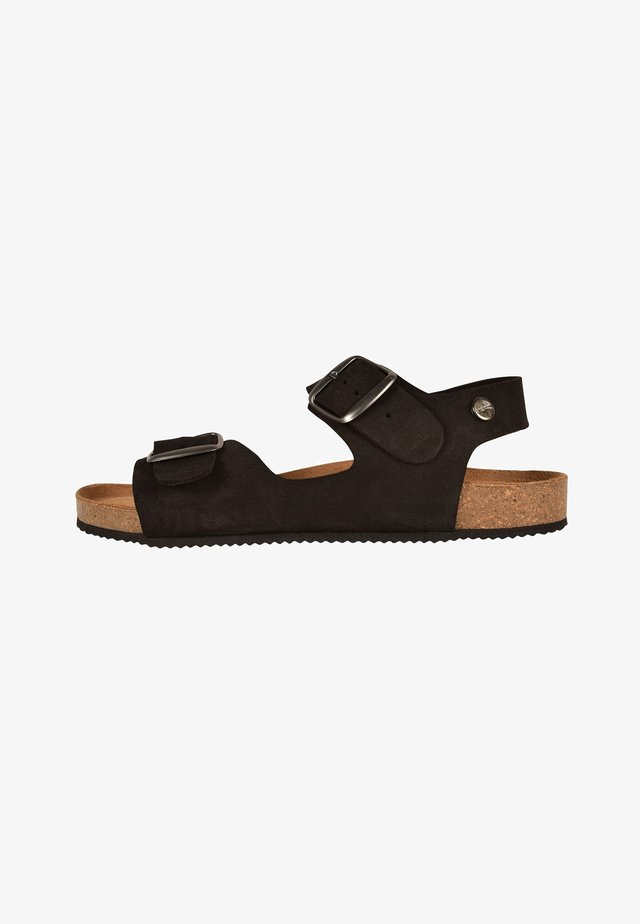 CAJOU - Walking sandals - black