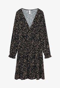 Mango - MOSS7 - Jersey dress - středně hnědá - 4