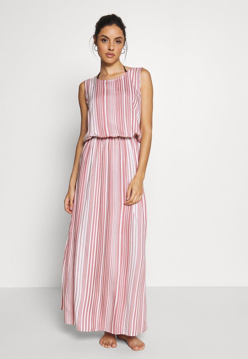 LASCANA - Day dress - weiß/rot