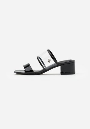 WHITNI CASUAL - Mules - clear/black