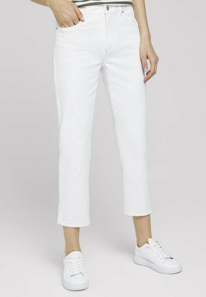 Straight leg jeans - whisper white