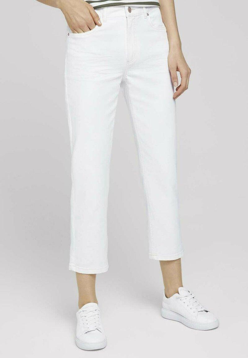 TOM TAILOR - Straight leg jeans - whisper white