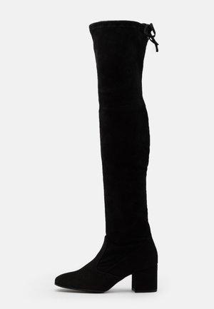 Over-the-knee boots - schwarz