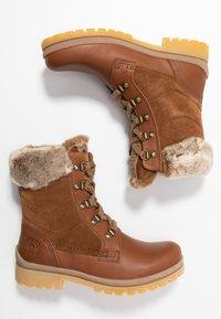 Panama Jack - TUSCANI - Lace-up ankle boots - bark - 3