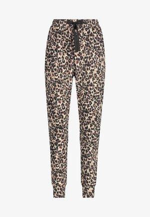 PETITE BRUSHED - Pyjama bottoms - tan