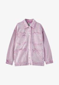 PULL&BEAR - Denim jacket - rose - 5