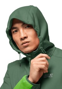 Jack Wolfskin - Soft shell jacket - leaf green - 2