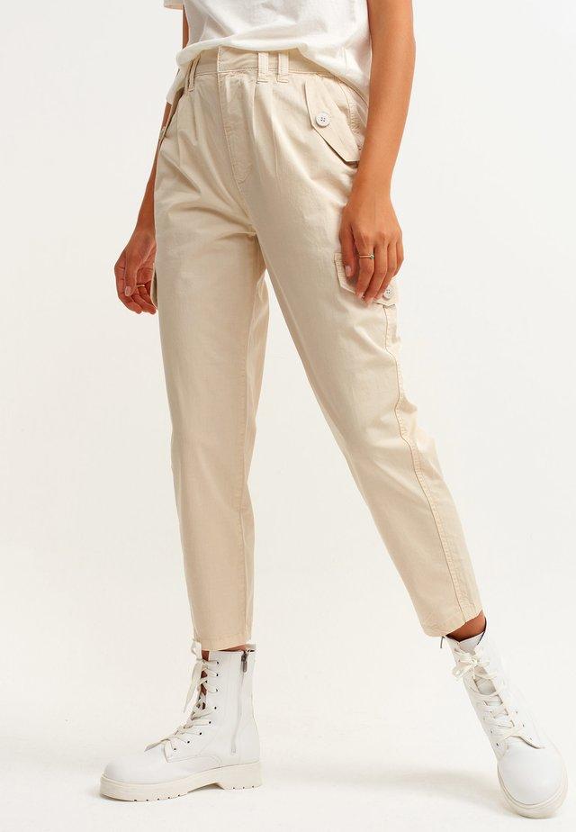 Cargo trousers - bernsteinfarben