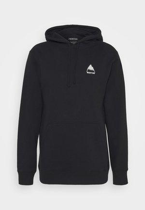 MOUNTAIN TRUE - Bluza z kapturem - black