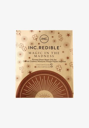 MAGIC IN THE MADNESS - Gesichtspflegeset - 24kt gold sheet mask/ pink brightening hydrogel/ illuminating clear