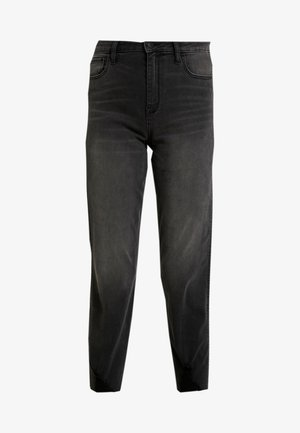 WASH UHR MOM - Jeans Relaxed Fit - washed black