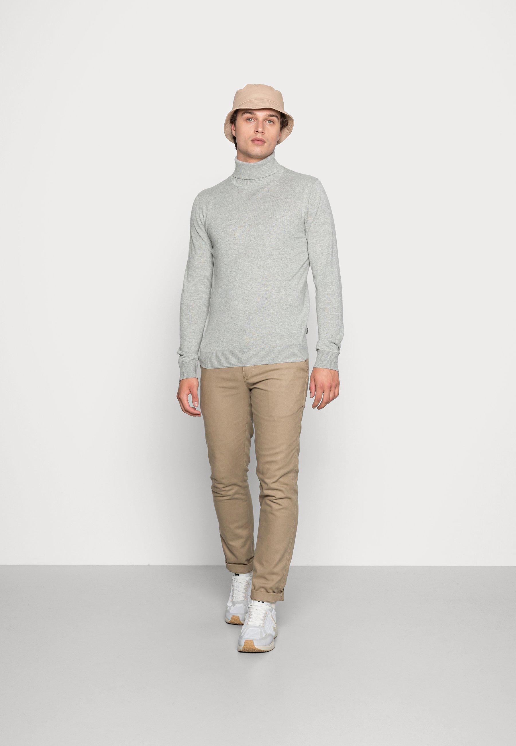 Homme JJEEMIL ROLL NECK 2PACK - Pullover