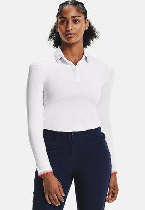 ZINGER LONG SLEEVE  - Polo shirt - white