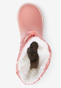 Next - WARM LINED CUFF - Stivali di gomma - pink - 1