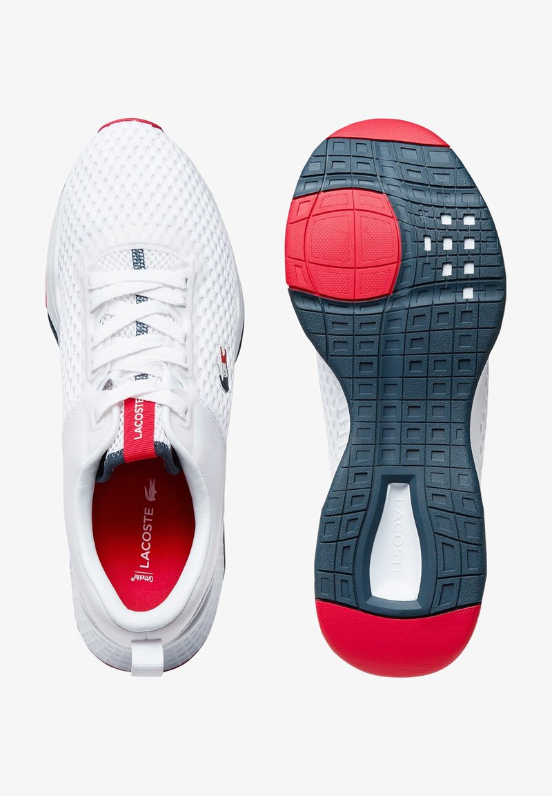 Lacoste - Sneakers laag - wht/nvy/red