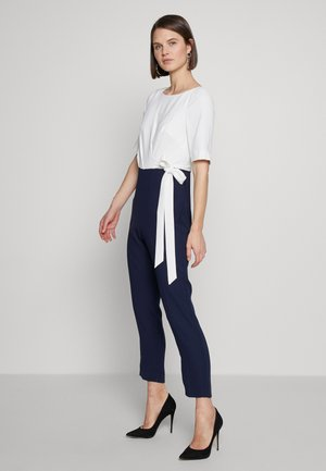 JULIANNA - Overall / Jumpsuit /Buksedragter - midnight/ivory