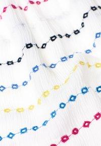 Superdry - GESMOKTER  - A-line skirt - white geo - 4