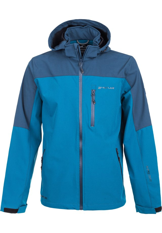 TOMMY M ACTIV - Waterproof jacket - 2119 blue coral