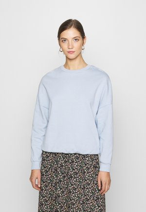 Oversized Sweatshirt - Collegepaita - blue