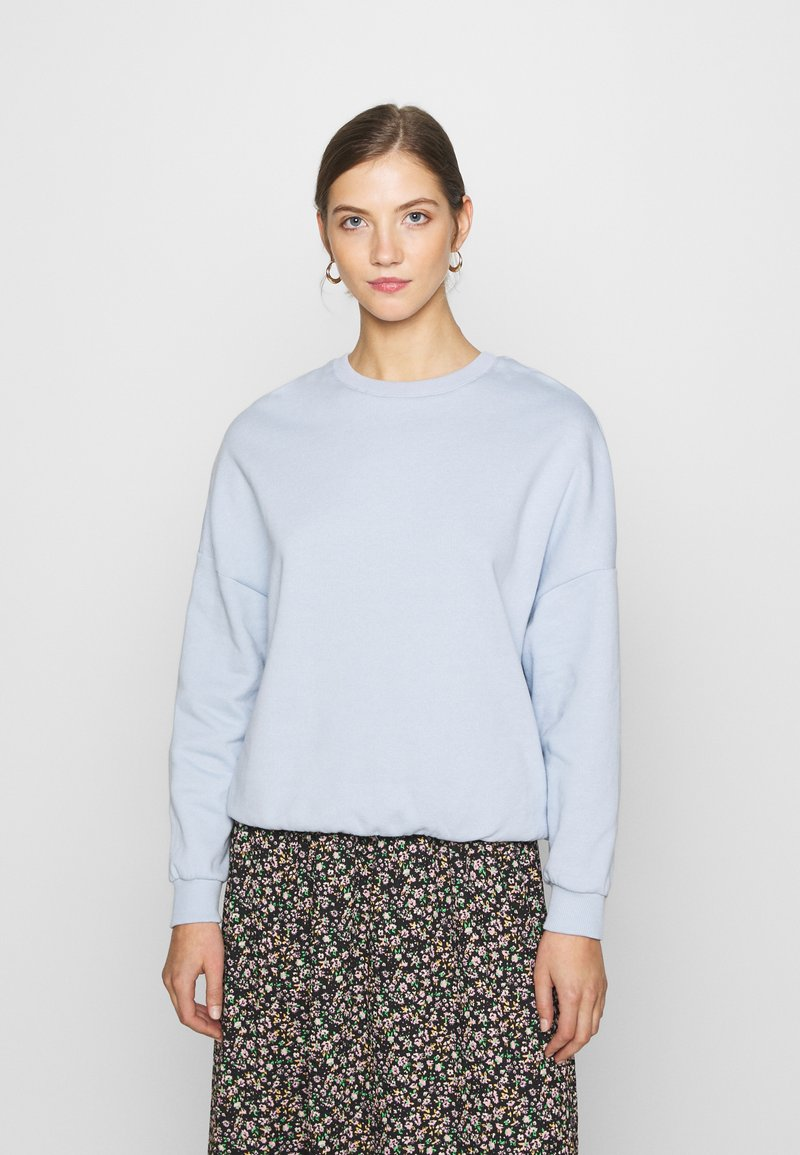 Even&Odd - Oversized Sweatshirt - Sweatshirt - blue